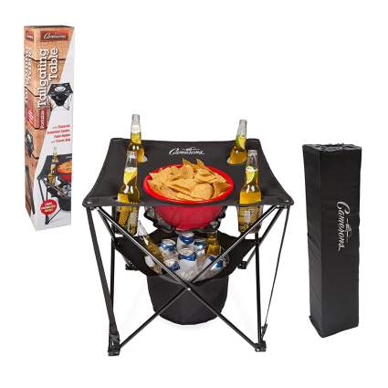 collapsible tailgating table