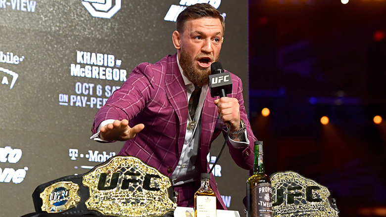 Conor McGregor just might create a new UFC title belt
