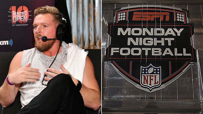 Pat Mcafee On Espn Mnf Gig How Many Excuses Can You Give