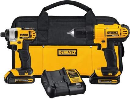DeWalt 20V MAX Cordless Drill Combo Kit