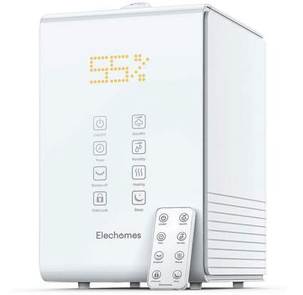 Elechomes Ultrasonic Warm and Cool Mist Humidifier