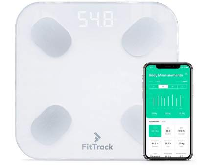 FitTrack Dara Smart BMI Glass Digital Scale