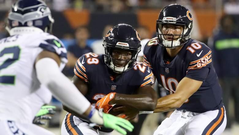 Chicago Bears RB Tarik Cohen Mitchell Trubisky