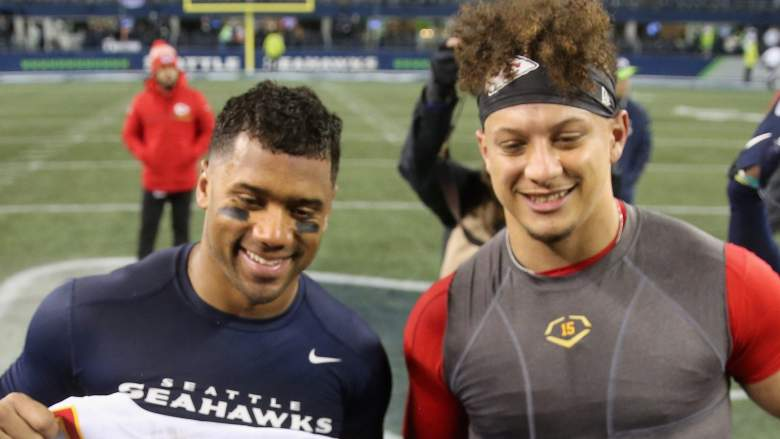 Russell Wilson Patrick Mahomes