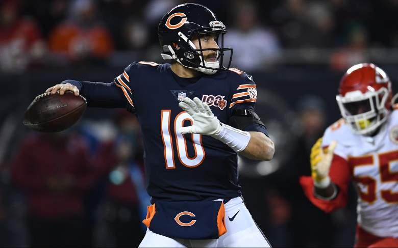 Chicago Bears quarterback Mitchell Trubisky stats