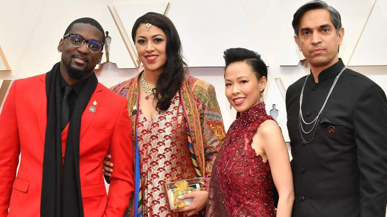 Politician Bruce Franks Jr., producer Smriti Mundhra, director/producer Poh Si Teng, and Sami Khan attend the 92nd Annual Academy Awards.