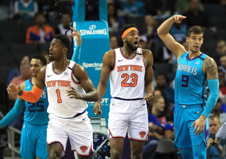 Knicks Hornets