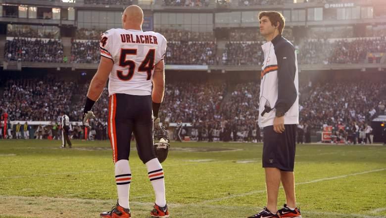 Brian Urlacher favorite Bears QB