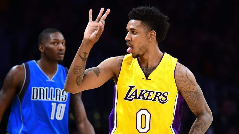 Nick Young, former Lakers guard