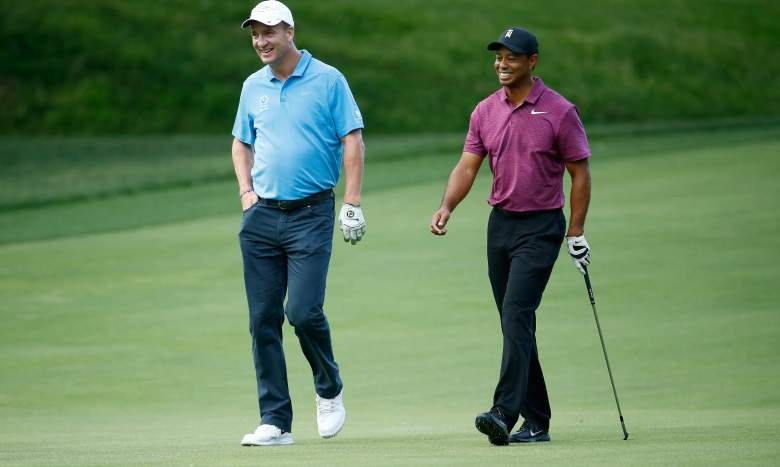 Watch Peyton Manning and Tiger Woods will take on Tom Brady and Phil Mickelson in The Match II
