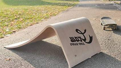 """Graw Jump Ramps G35 for Skateboard, BMX and More - 14"""" High Wood Launch Ramp"""