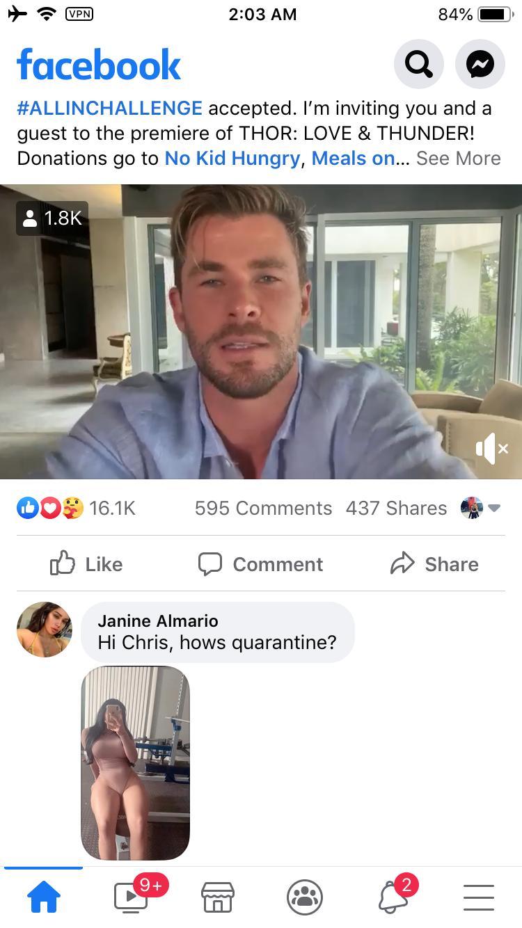 Janine Almario Facebook page