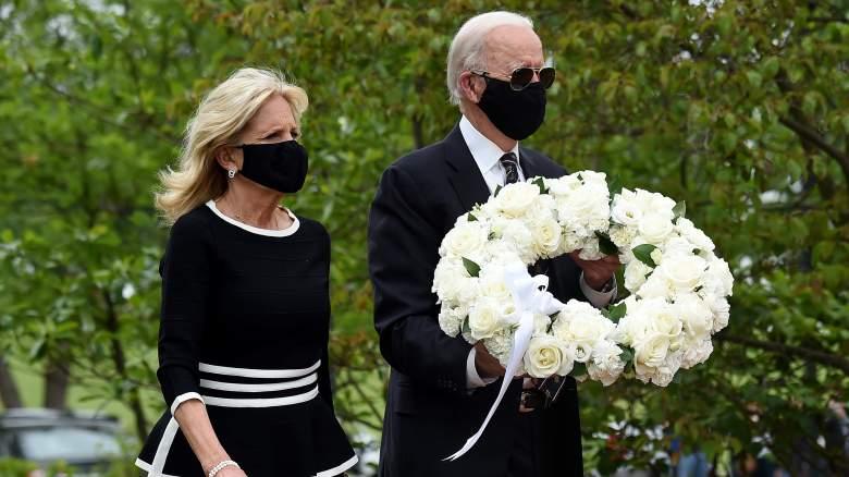 Joe Biden leaves home