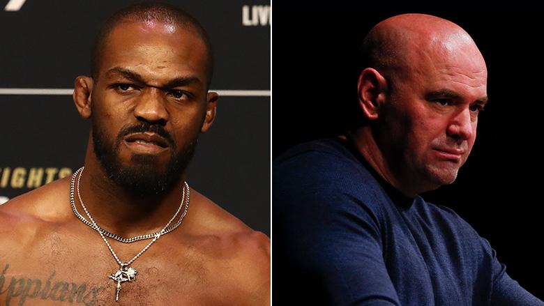 UFC's Jon Jones and Dana White