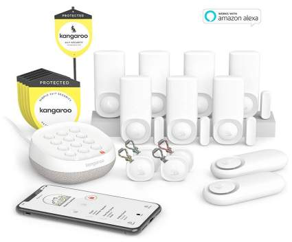 Kangaroo Kit 14-piece Home Security System