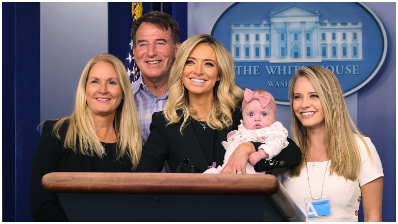 Kayleigh McEnany family