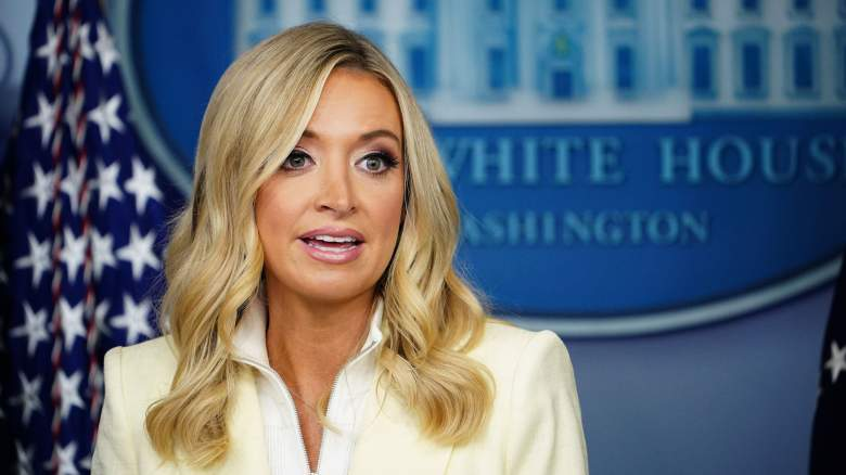 Kayleigh McEnany white house briefing