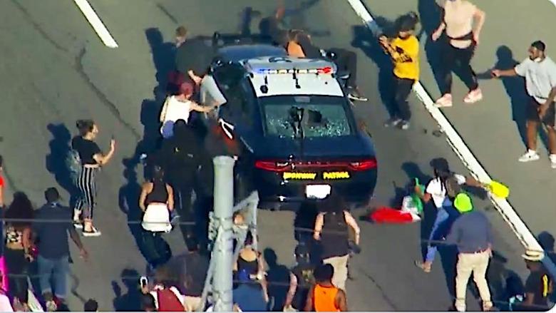 LA protest