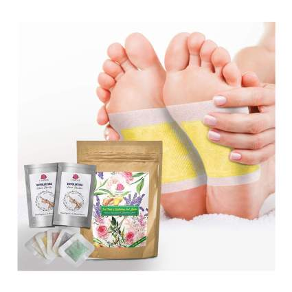foot masks with foot pads