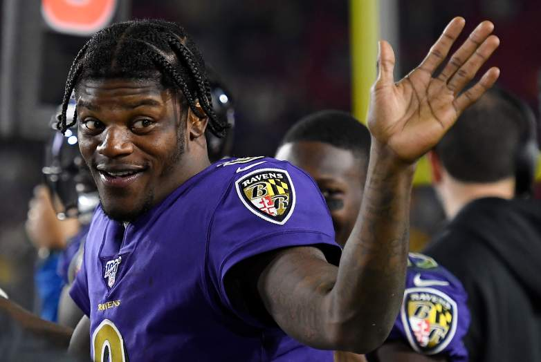 Lamar Jackson, Baltimore Ravens quarterback