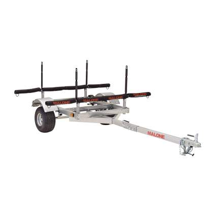 Malone XtraLight LowMax 4 Kayak Trailer Package