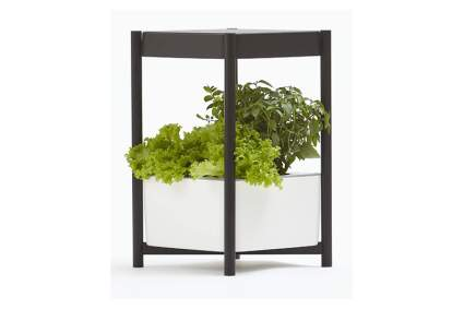 hydroponic garden side table