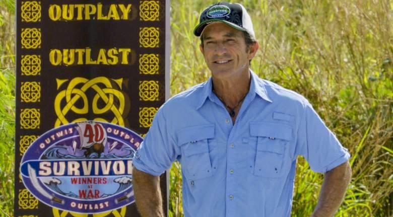 Survivor Season 40 Jeff Probst