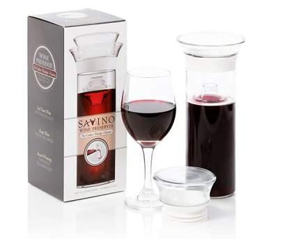 Savino Airtight Glass Wine Preserver