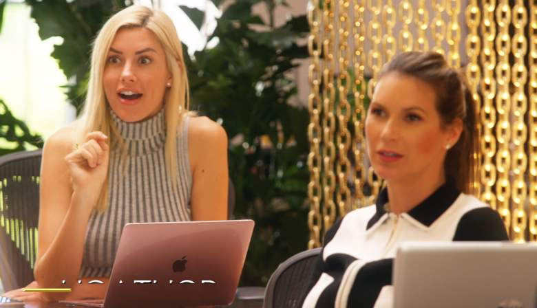 Heather Young and Maya Vander on Selling Sunset