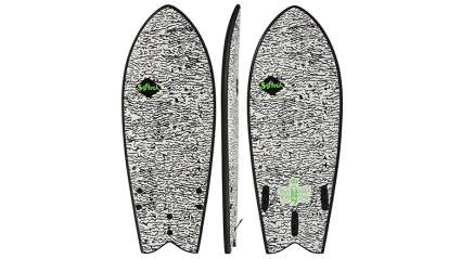 "Softech Kyuss Fish FCS II 5'8"" Surfboard"