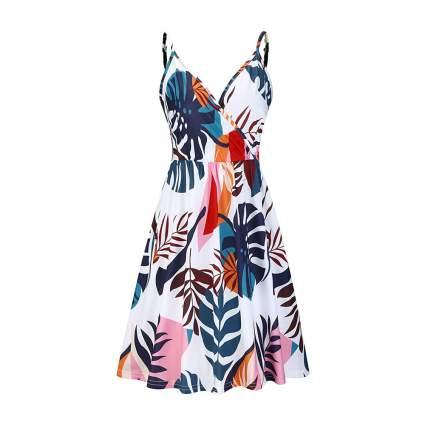 Tropical summer dress