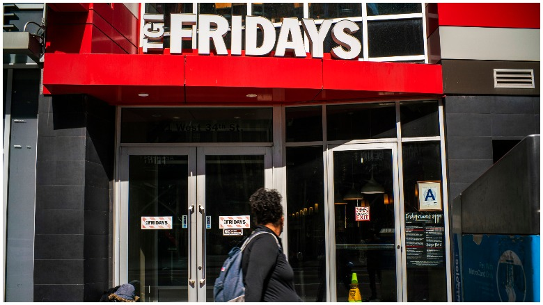 TGI Fridays Memorial Day