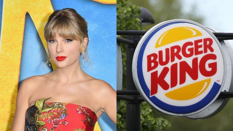 Taylor Swift and Burger King