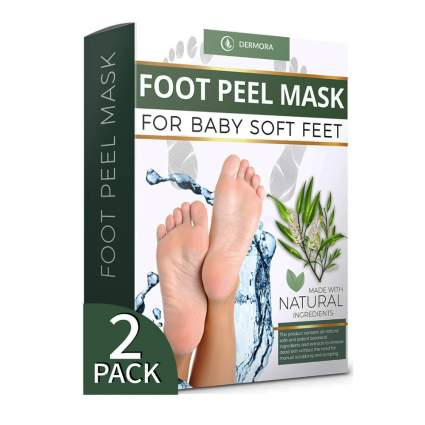 tea tree foot peel masks
