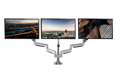 TechOrbits Three Monitor Stand Mount
