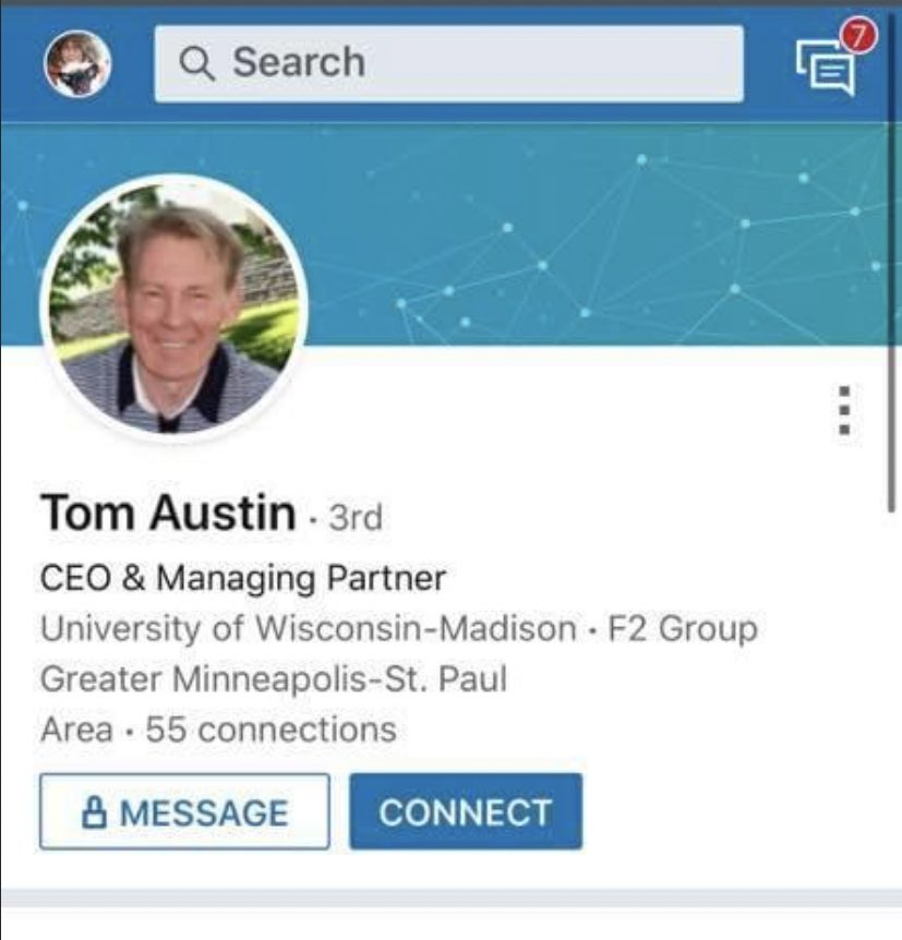 Tom Austin LinkedIn