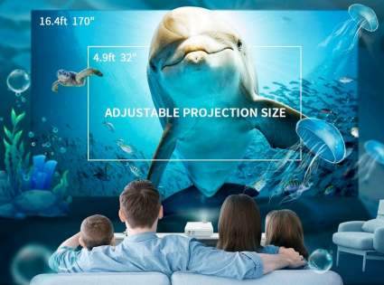 Vankyo Leisure 3 Mini Movie Projector
