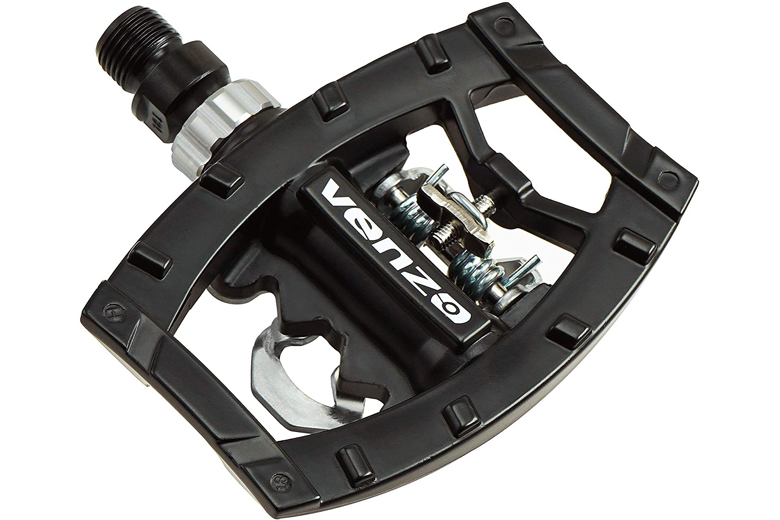 """SPDs Indoor Cycle SPIN Bike Pedals Spinning W Toe Cage SBD 9//16/"""" SHAFT Wellgo"""