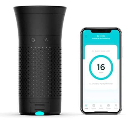 Wynd Plus Personal Air Purifier with Air Quality Tracker