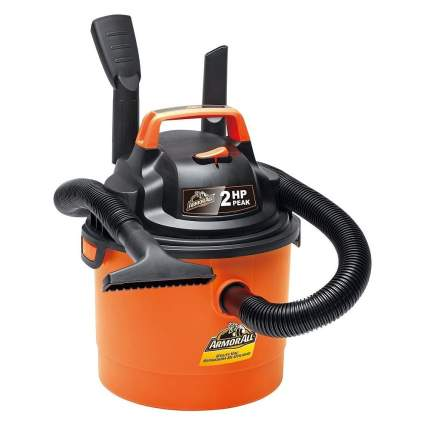 Armor All 2.5-Gallon Wet/Dry Wall Mounted Shop Vacuum