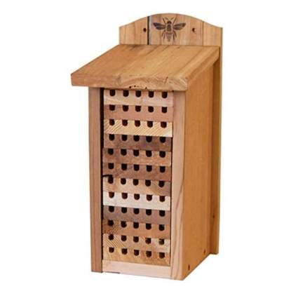 cedar mason bee house