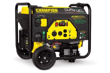 Champion 3800-Watt Dual Fuel Portable Generator