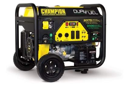 Champions 7500 Watt Dual Fuel Portable Generator
