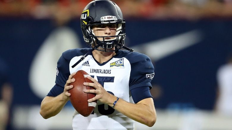 Giants UDFA QB Case Cookus Northern Arizona Highlights