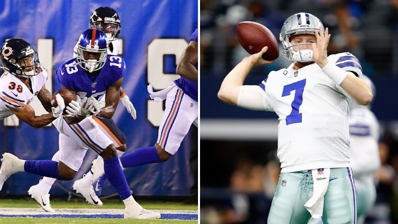 New York Giants waive Reggie White Jr., claim QB Cooper Rush off waivers