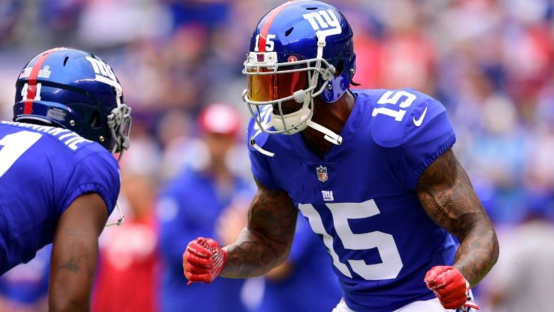 Brandon Marshall says the Giants are not a well-run organization