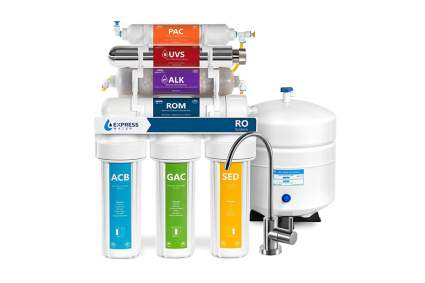 under sink uv water purifier