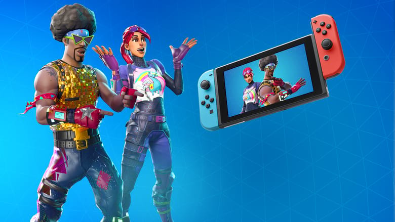 fortnite nintendo skin