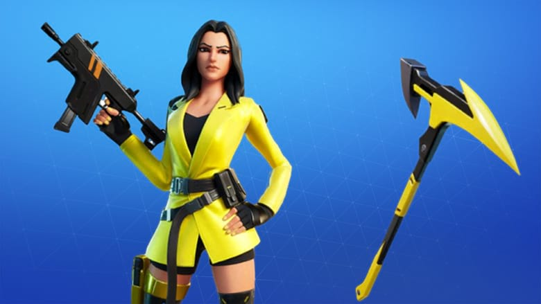 fortnite yellow jacket starter pack
