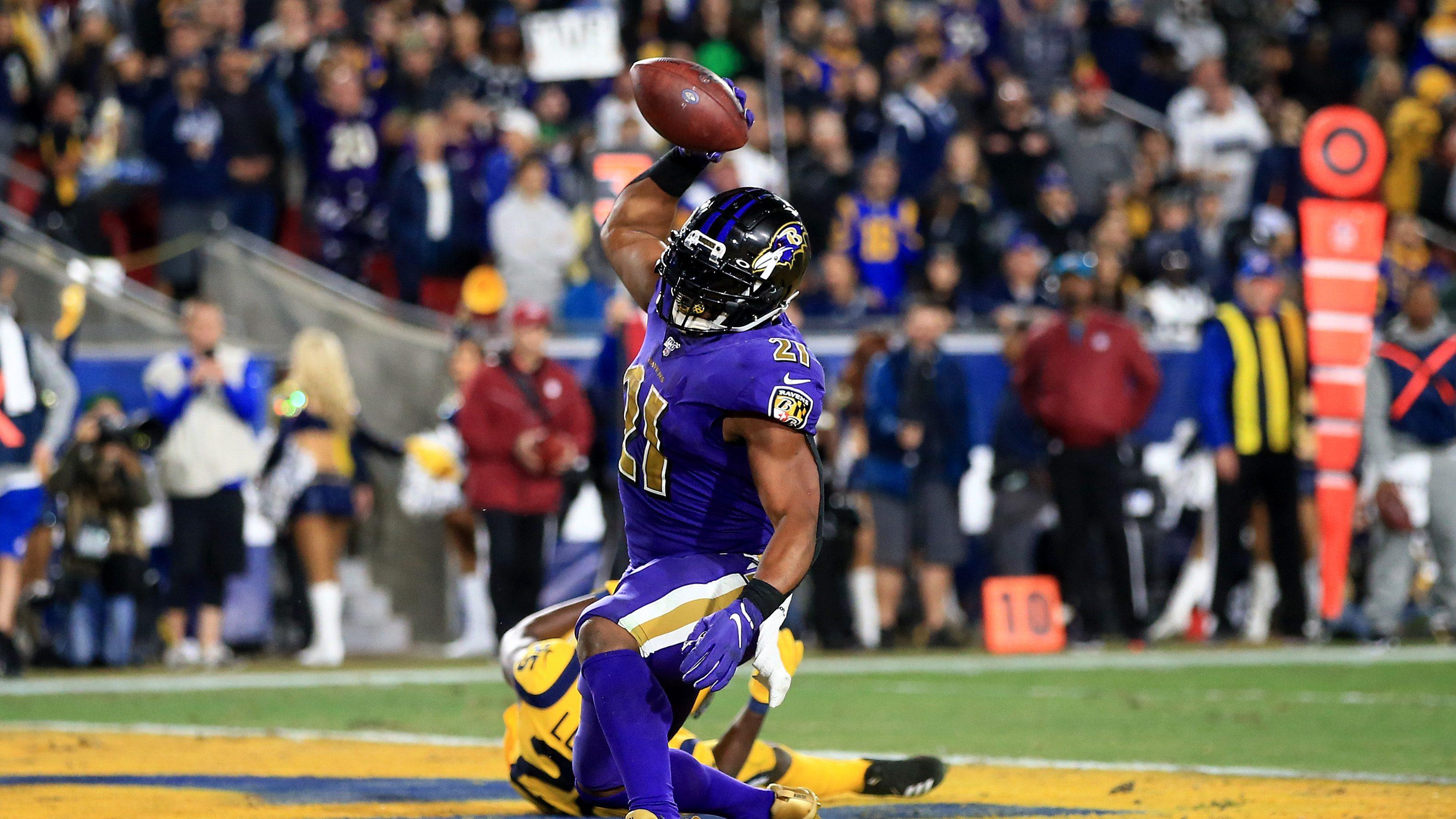 Mark Ingram Predicts Ravens Rushing Attack Dominates NFL ...